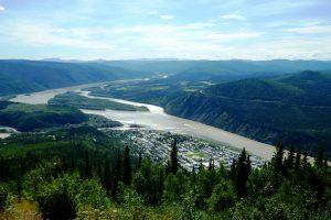 De Whitehorse à Dawson City