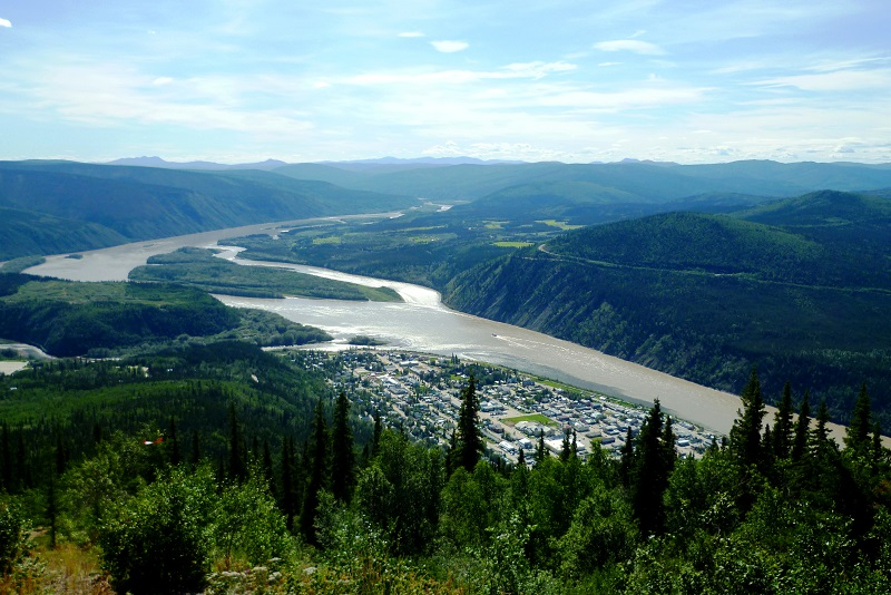 De Whitehorse à Dawson City